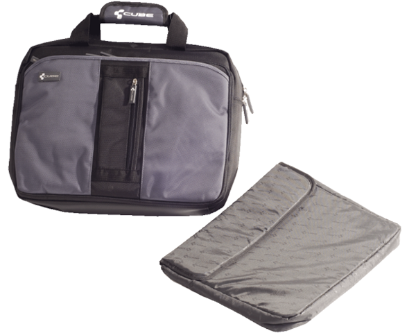 Cube Office-Bag | schwarz-grau