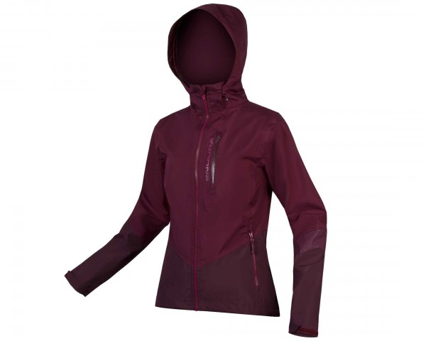 Endura Damen SingleTrack II Jacke | mulberry
