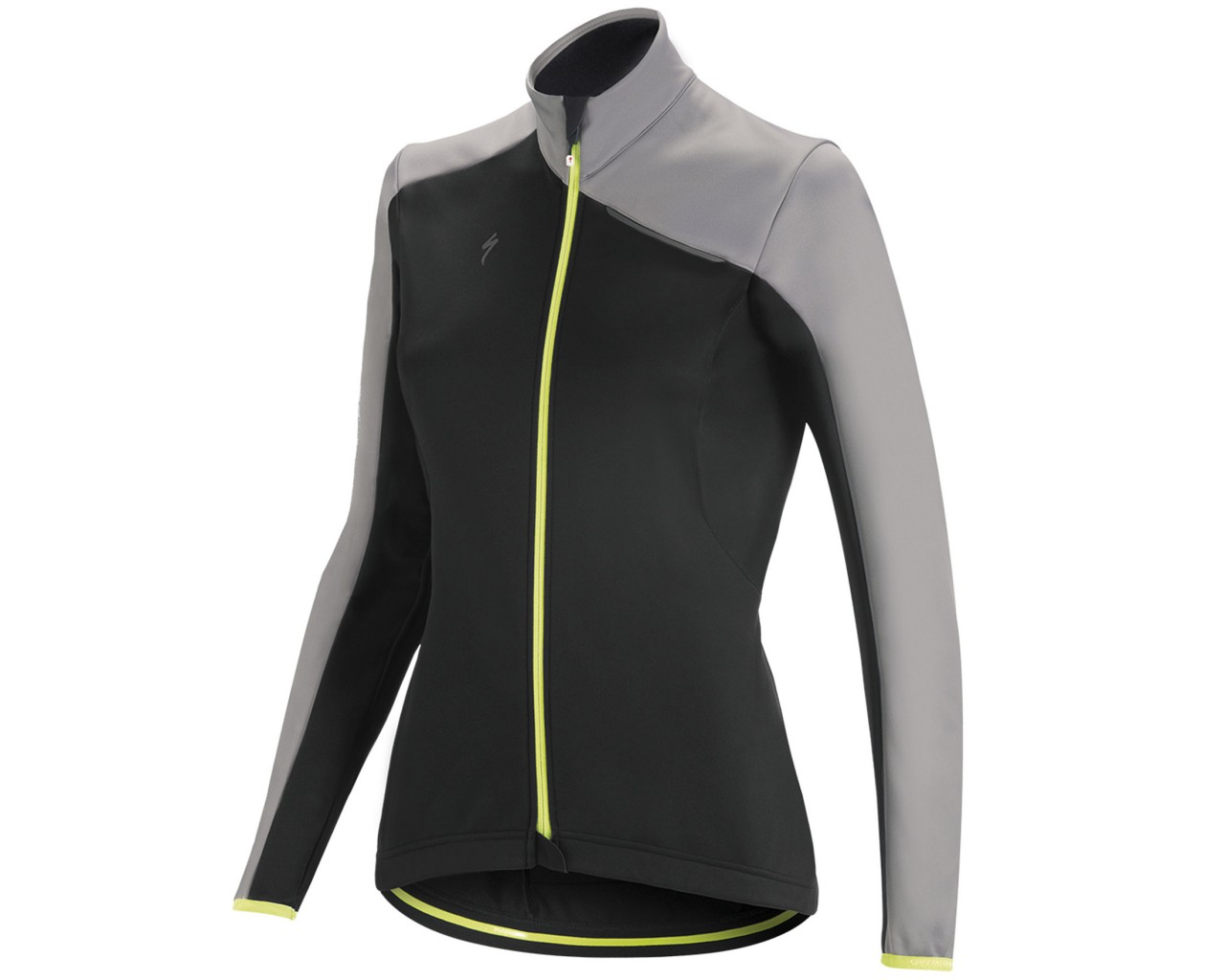 Specialized Element RBX Sport Womens Jacket | black-light grey-yellow