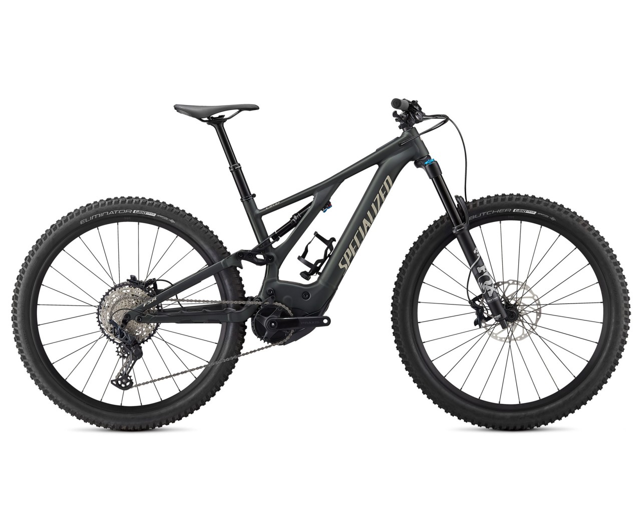 Specialized Levo Comp 29 - Pedelec Mountain Bike Fullsuspension 2021 | oak green metallic-black-gloss white mtns
