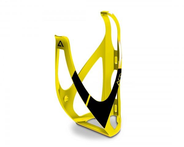 Cube ACID Bottle Cage HPP   matt yellow n black