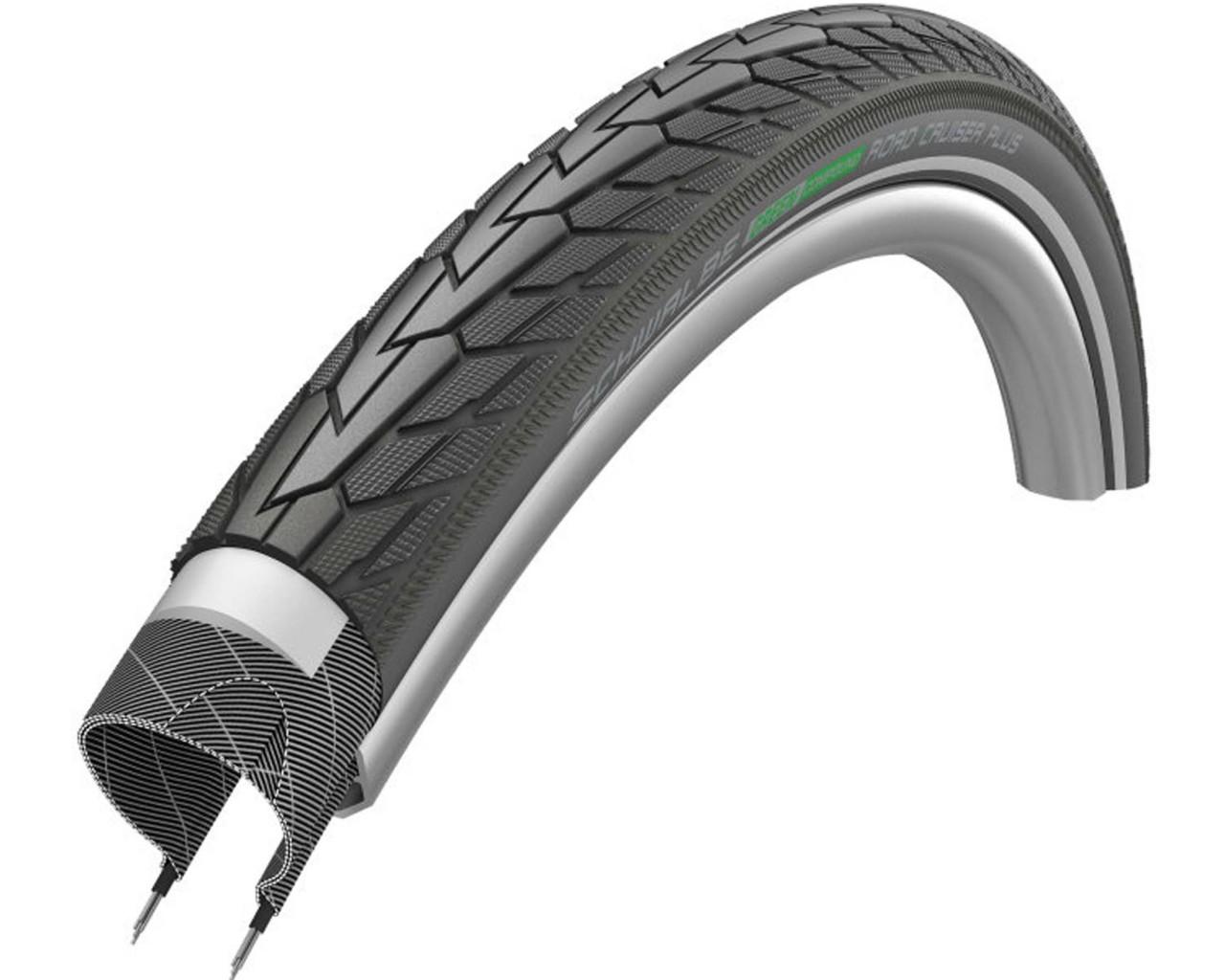 Schwalbe Road Cruiser Touring-tire 24x1.75 inch | black-reflex Active Line wired