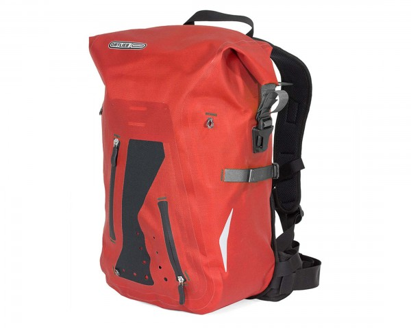 Ortlieb Packman Pro2 waterproof backpack PVC-free | chili