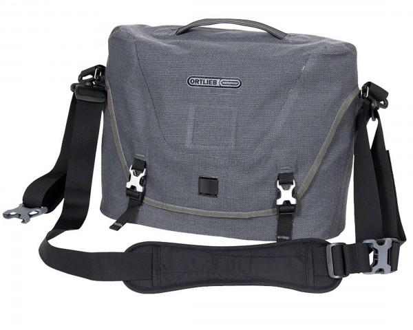 Ortlieb Courier-Bag wasserdichte Umhängetasche PVC-frei - Größe M | pepper