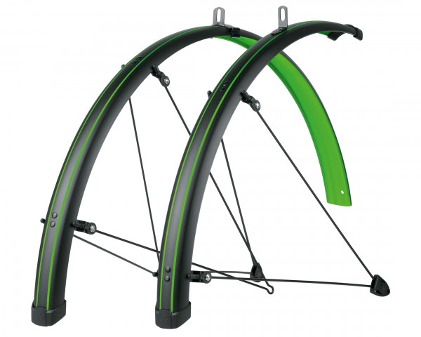 SKS Bluemels Stingray Mudguards Set 28 Inch | lime green