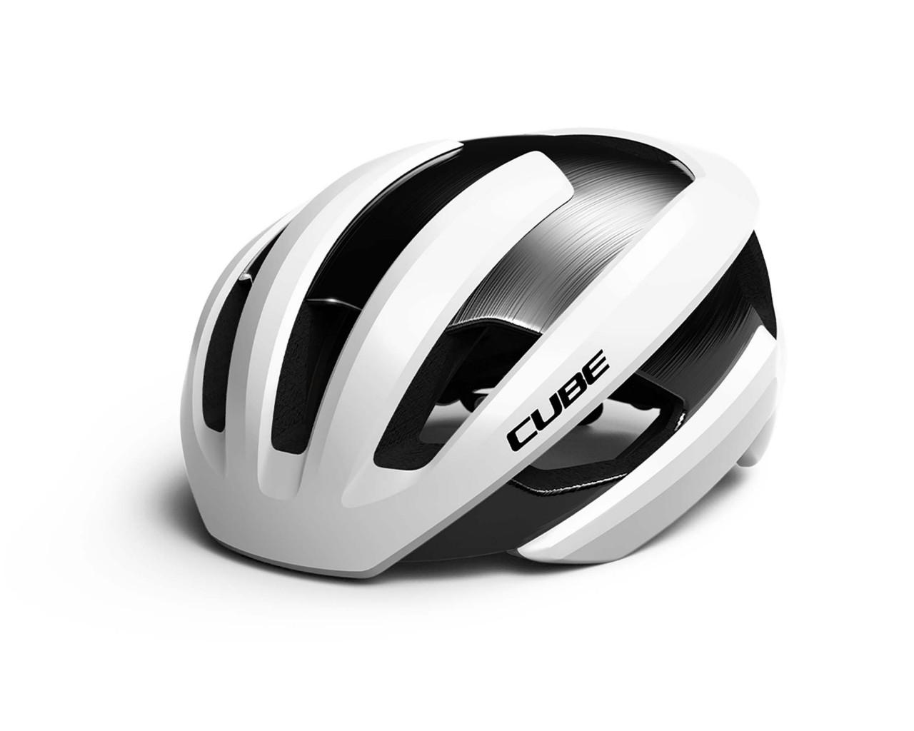 Cube Road Helmet HERON   white