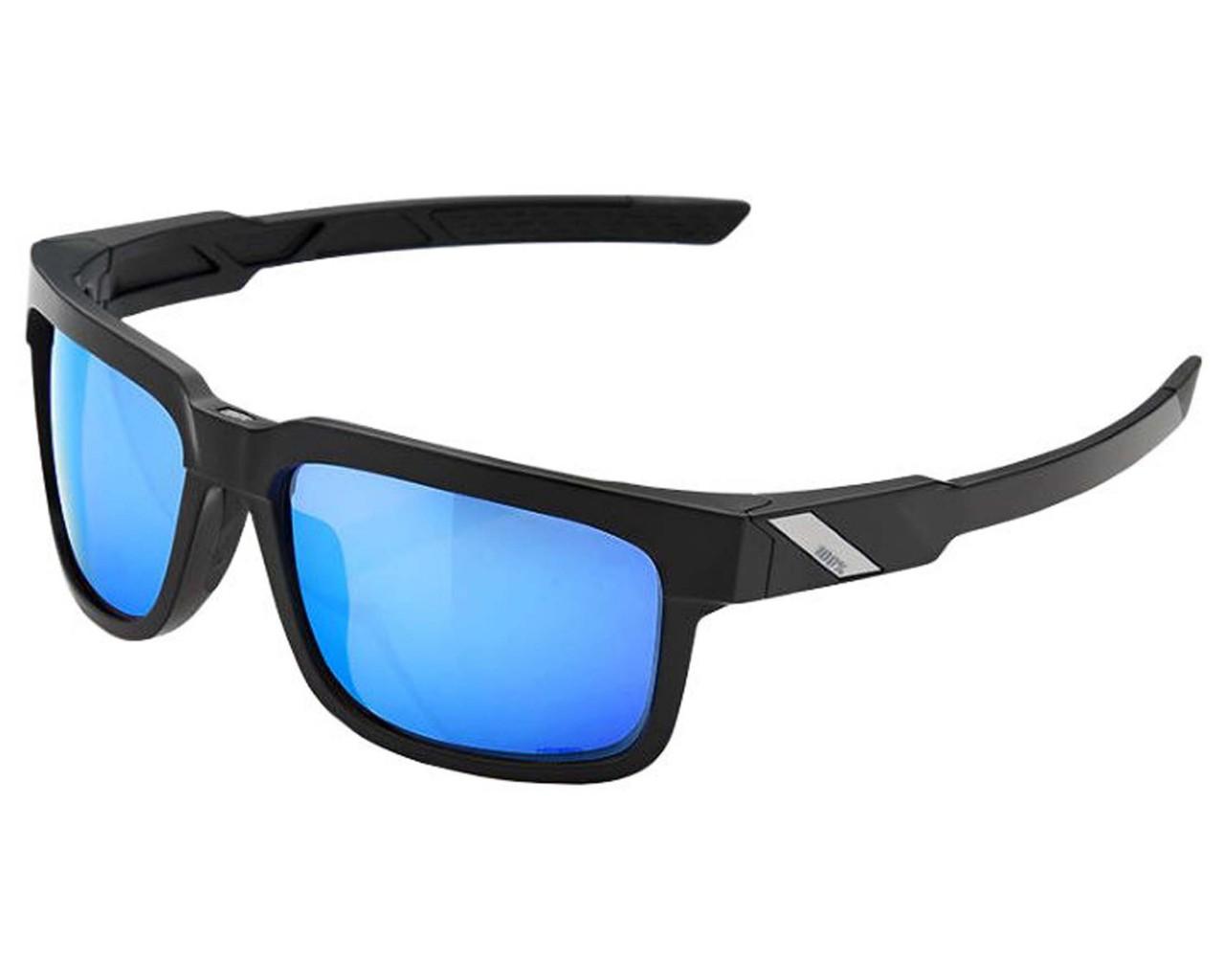 100% Type S HD Multilayer Mirror/Hiper Lens Sonnenbrille | matte black