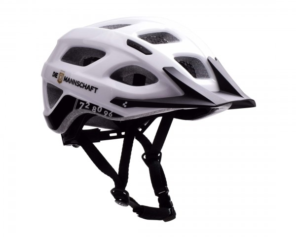 Cube Helm Tour DFB | white n black n gold