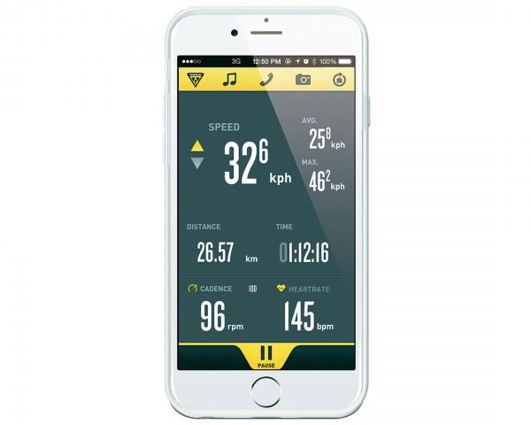 Topeak RideCase für iPhone 6 Plus ohne Halter | weiß