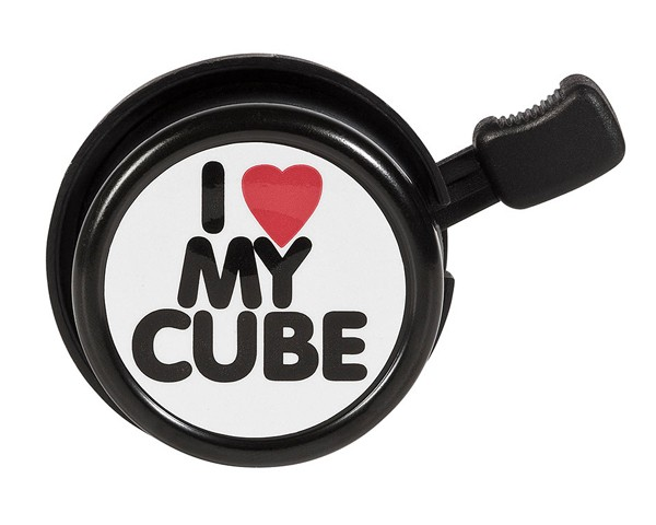 Cube I Love my Cube Bell