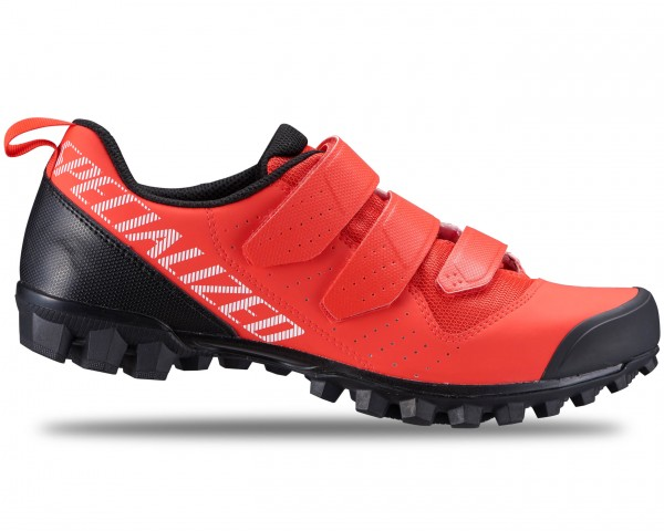 Specialized Recon 1.0 Mountain Bike Shoes   rocket red