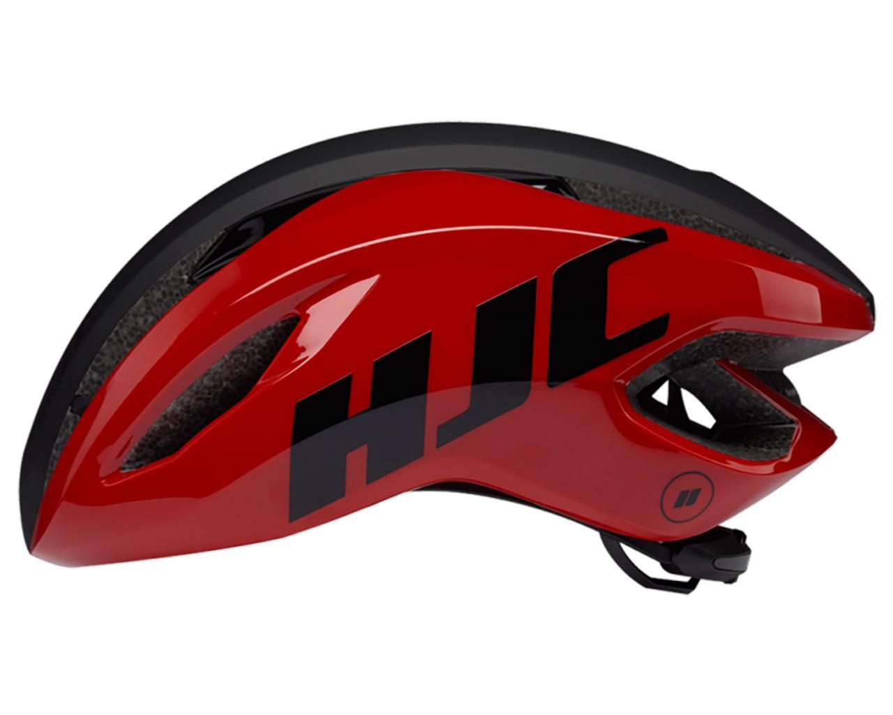HJC Valeco Rennrad Helm | matt gloss red black