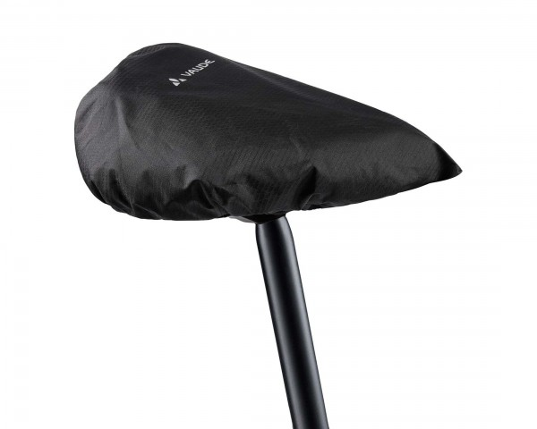 Vaude Raincover - Fahrradsattel Regenschutz | black