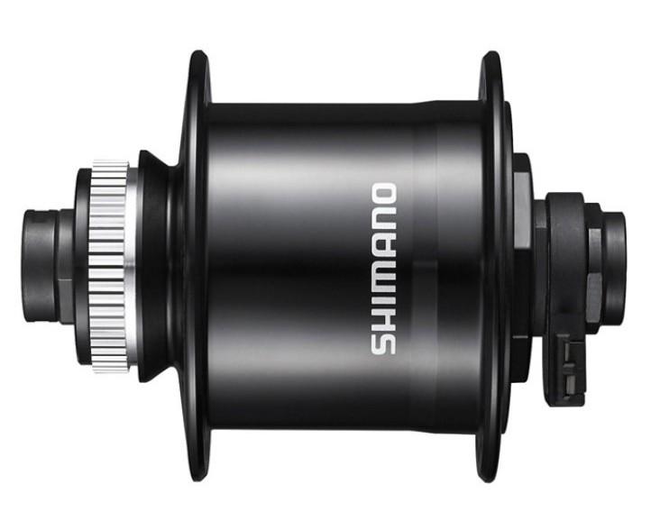 Shimano Nabendynamo Nexus DH-UR705-3 für Scheibenbremse Center-Lock Steckachse | schwarz