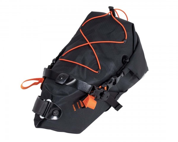 Ortlieb Seat-Pack 11 litres waterdproof saddle bag PVC-free | black matt