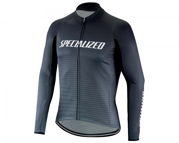 Specialized Element RBX Comp Logo Team Jersey longsleeve   black-charcoal