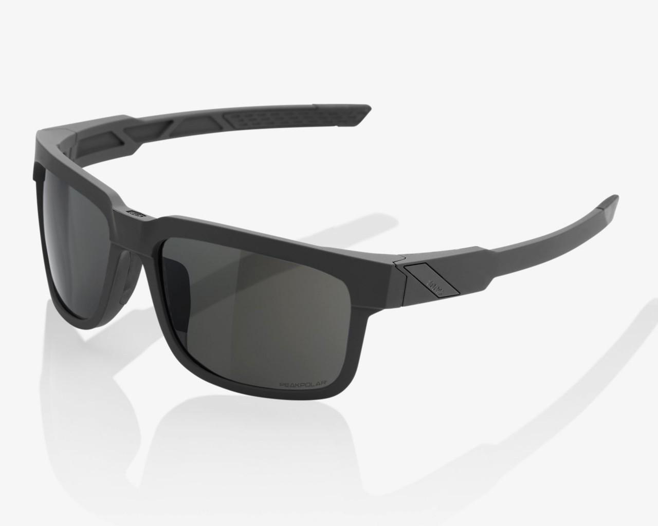 100% Type S - PeakPolar Cycling Sunglasses | soft tact slate
