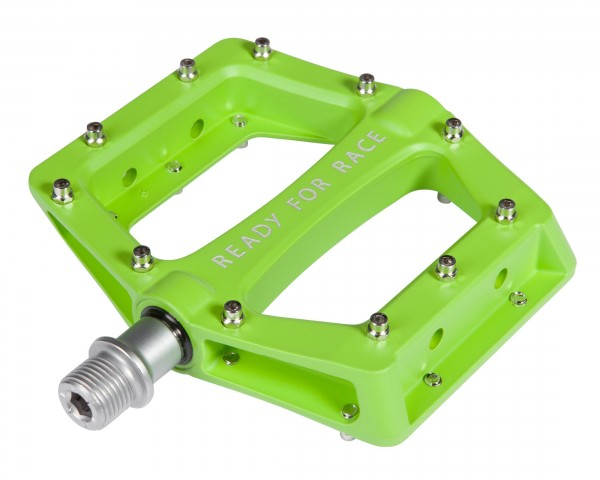 Cube RFR Pedale Flat RACE   green