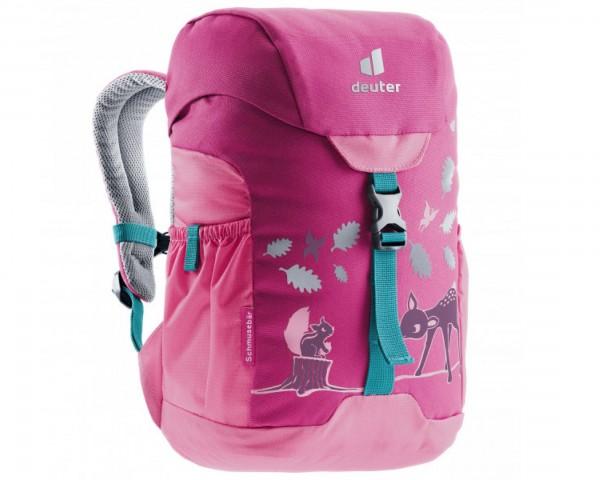 Deuter Schmusebär 8 litres Kids backpack PFC-free   magenta-hotpink