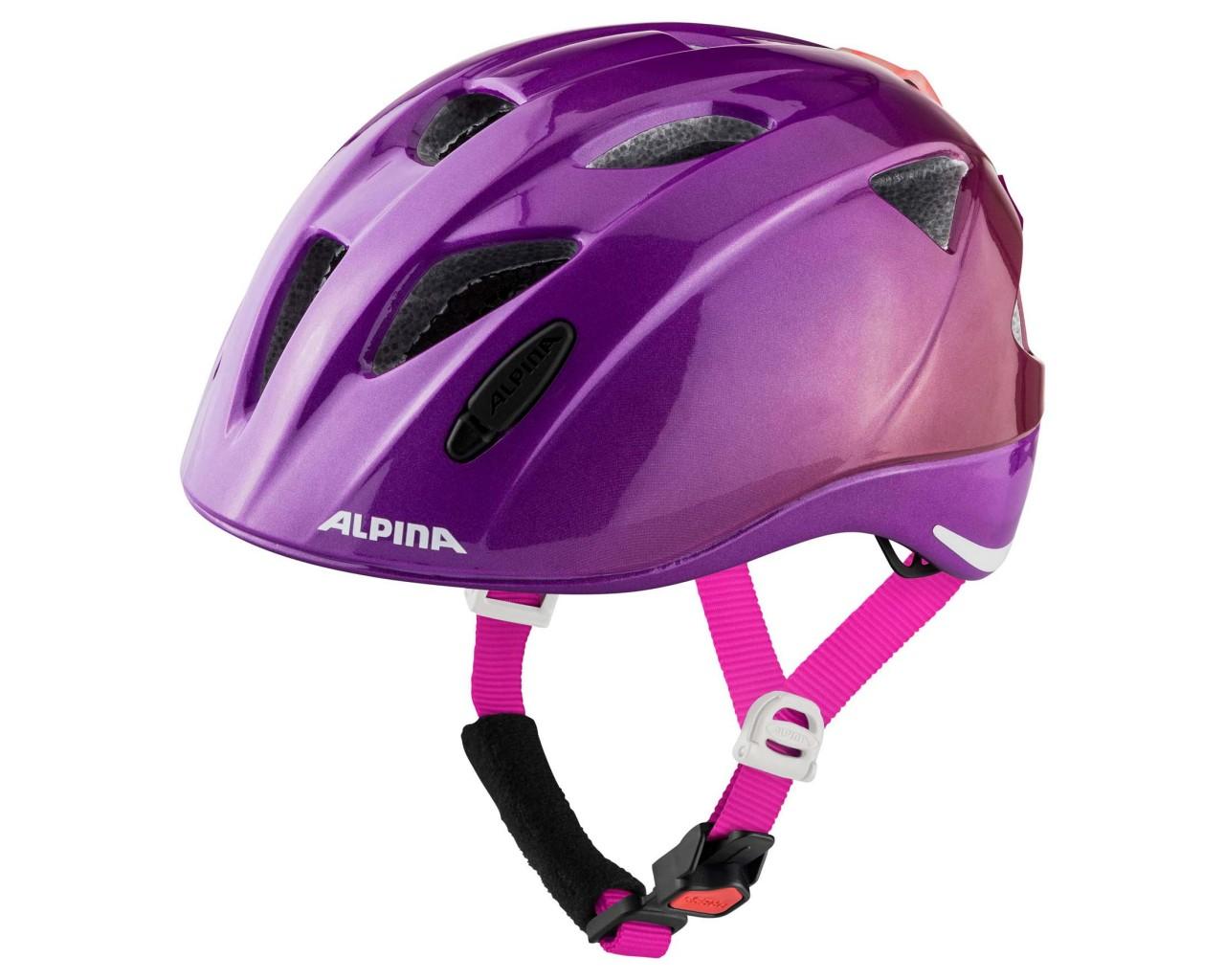 Alpina Ximo Flash Kinder Fahrradhelm | berry gloss
