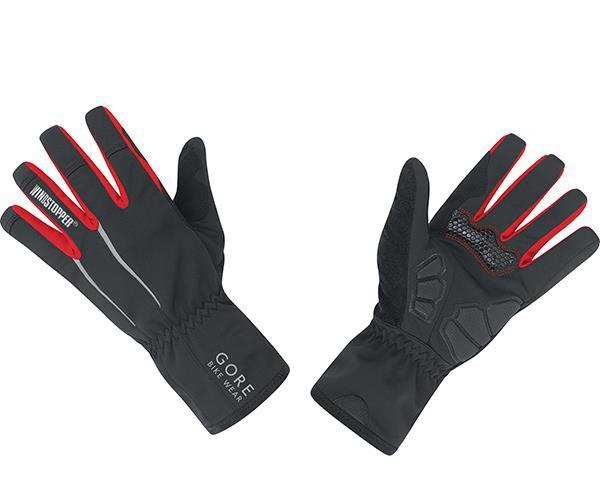 Gore Bike Wear POWER WINDSTOPPER Soft Shell Handschuhe | schwarz