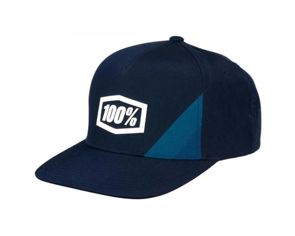 100% Cornerstone Trucker Hat | navy