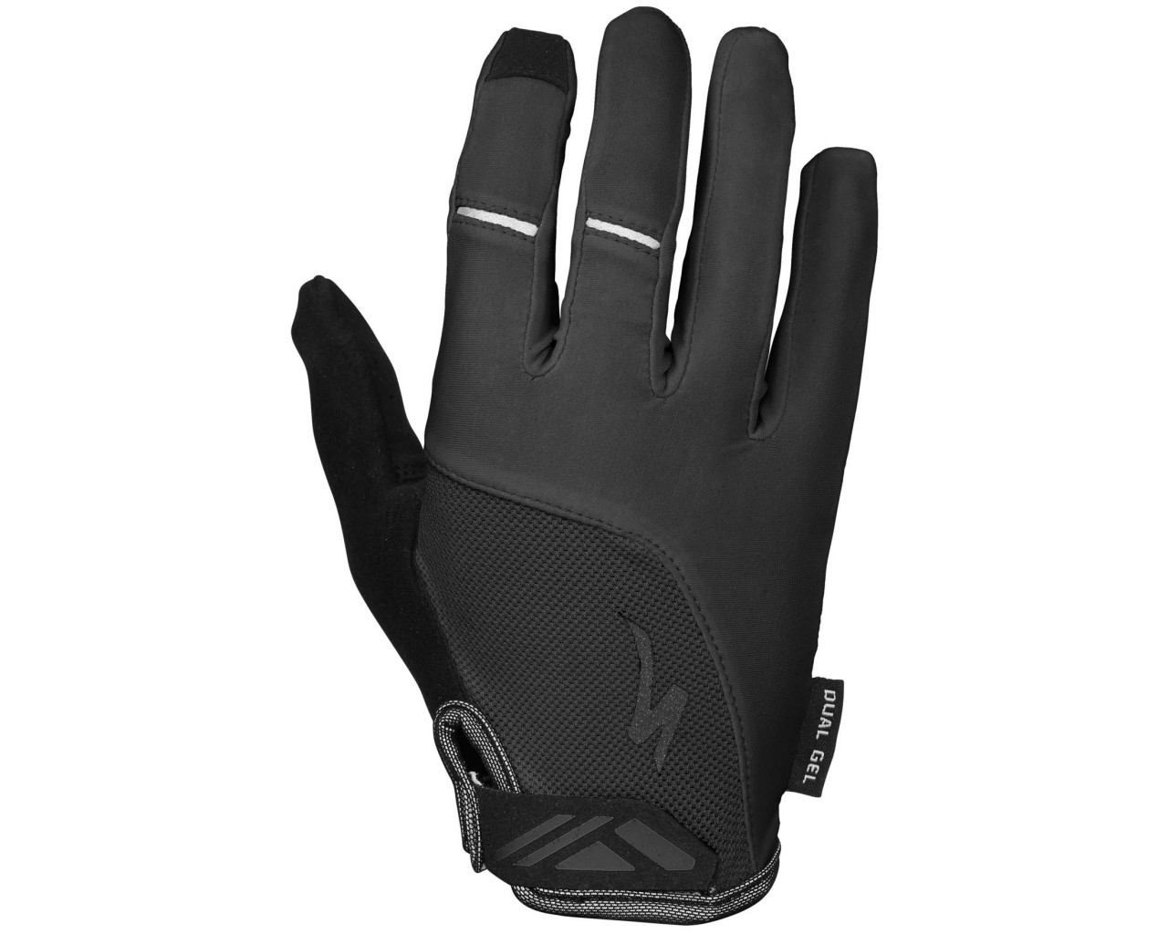 Specialized Body Geometry Dual-Gel Women Gloves longfinger   black