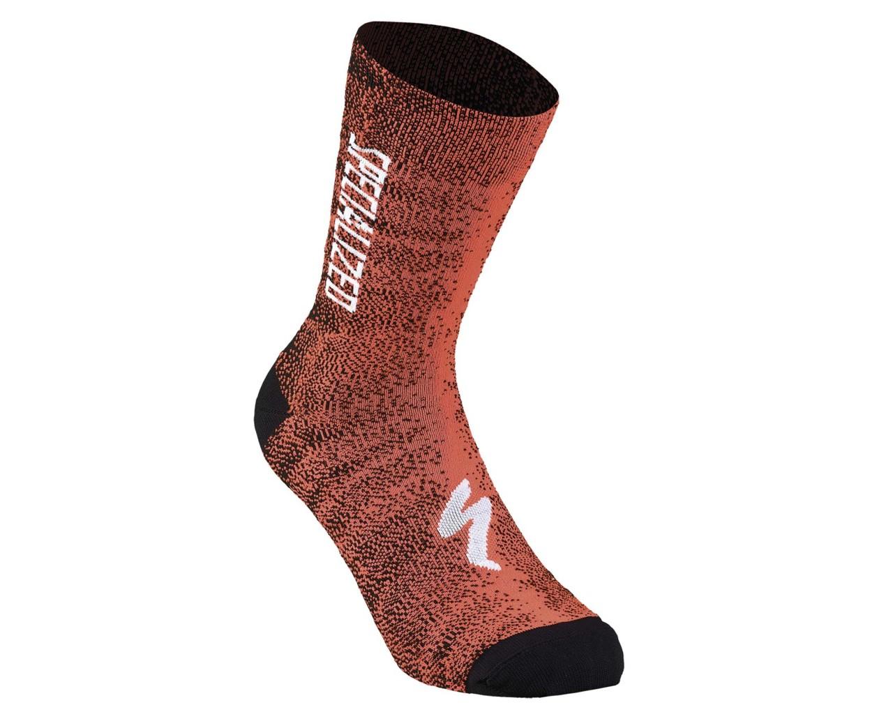 Specialized SL Team Expert Socks   rocket red-black faze