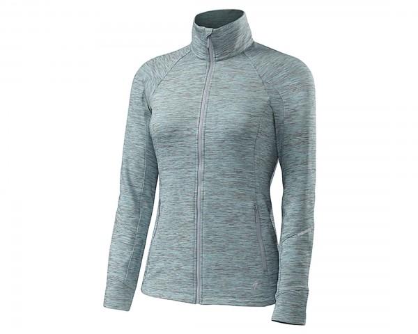 Specialized Womens Shasta Track Jacket | turquoise heather