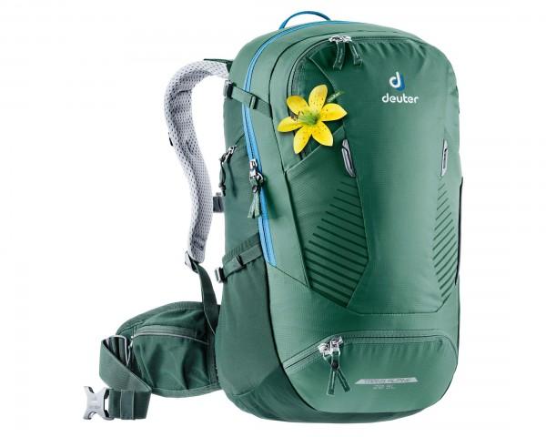 Deuter Trans Alpine 28 litres SL Women Bike backpack | seagreen-forest