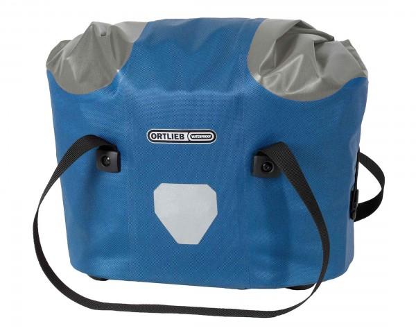 Ortlieb Frontkorb waterproof handlebar basket PVC-free - incl. mount | stealblue-gray