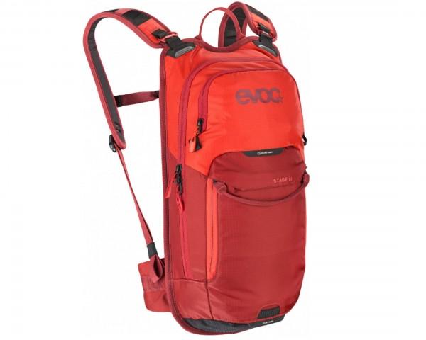 Evoc Stage 6 Liter Fahrradrucksack | orange-chili red