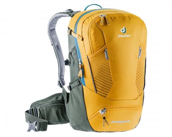 Deuter Trans Alpine 24 litres Bike backpack   curry-ivy