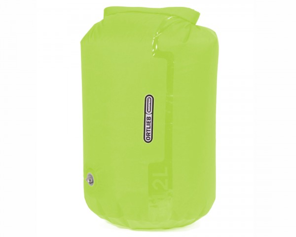 Ortlieb dry bag PS10 with valve 12 liter waterproof PVC-free | light green
