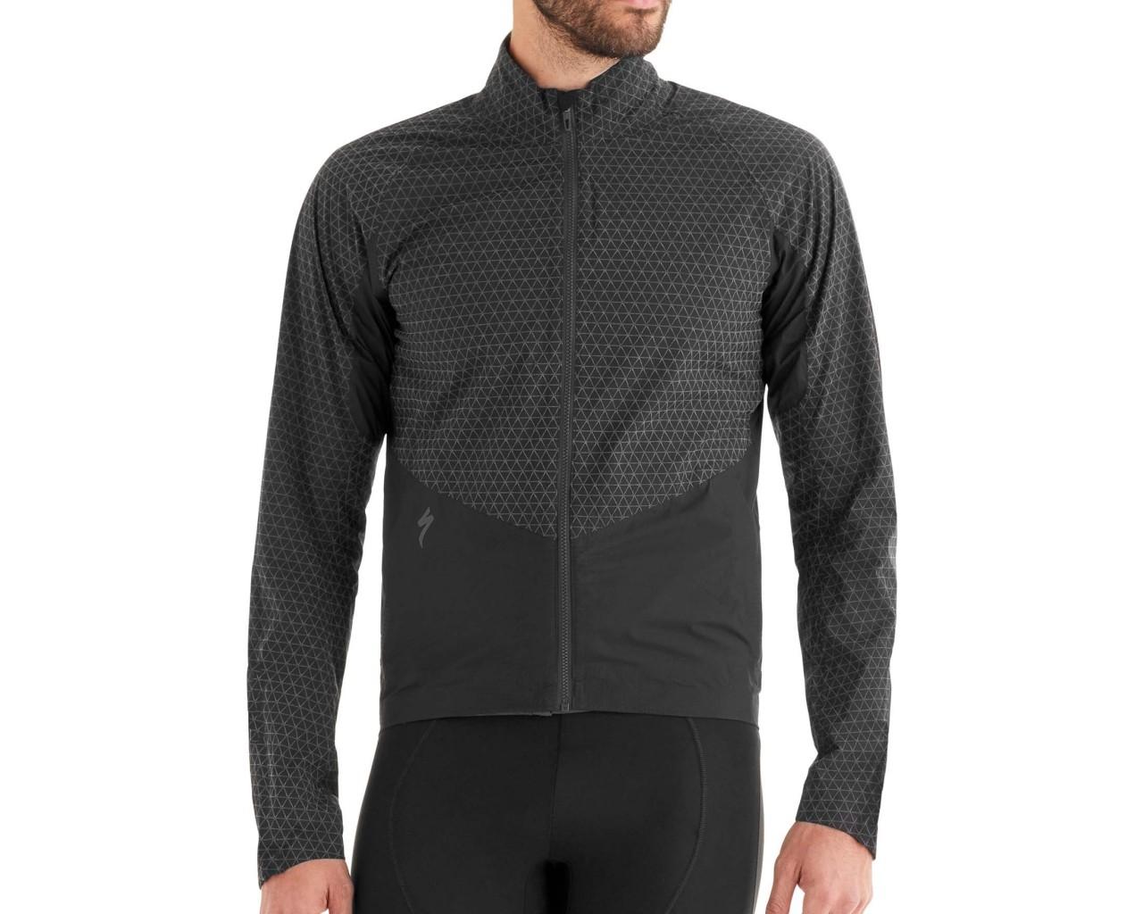 Specialized Deflect Reflect H2O Jacket | black reflective