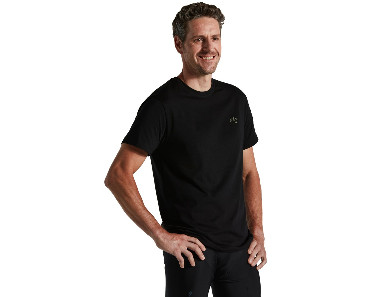 Specialized Sagan Deconstructivism Green T-Shirt kurzarm   black