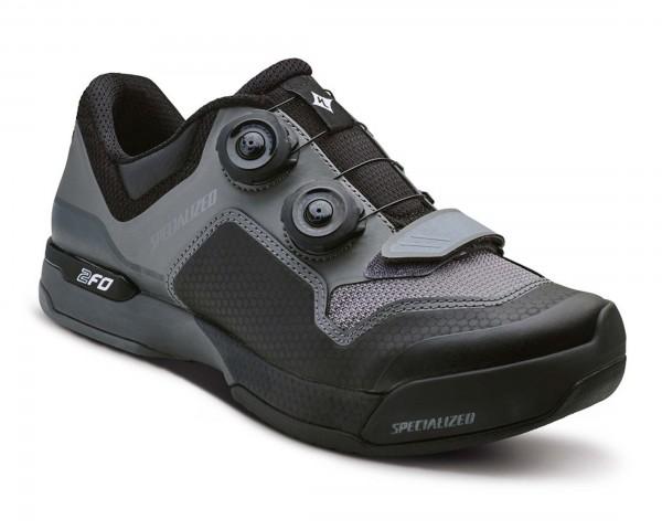 Specialized 2FO Cliplite Women MTB Schuhe | black-dark grey