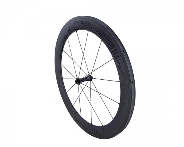 Specialized Roval CLX 64 Tubular - Carbon Front 28 Inch | satin carbon-gloss black