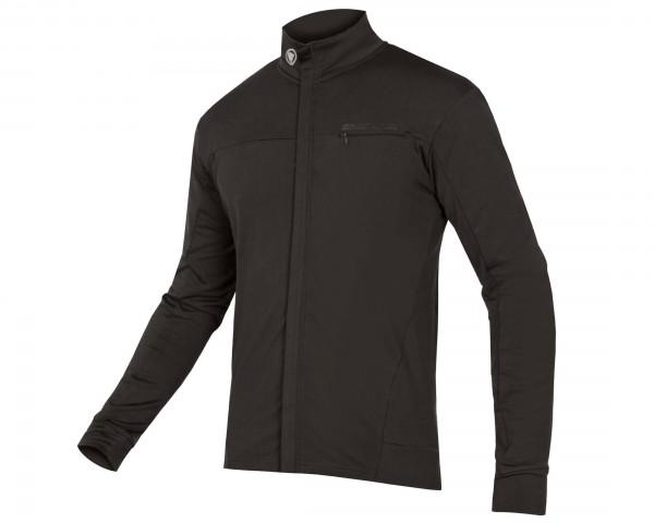Endura Xtract Roubaix Langarm-Trikot | schwarz