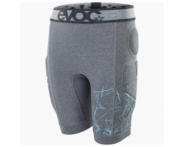Evoc Crash Pants Kids - Kinder Fahrradunterhose mit Pads | carbon grey