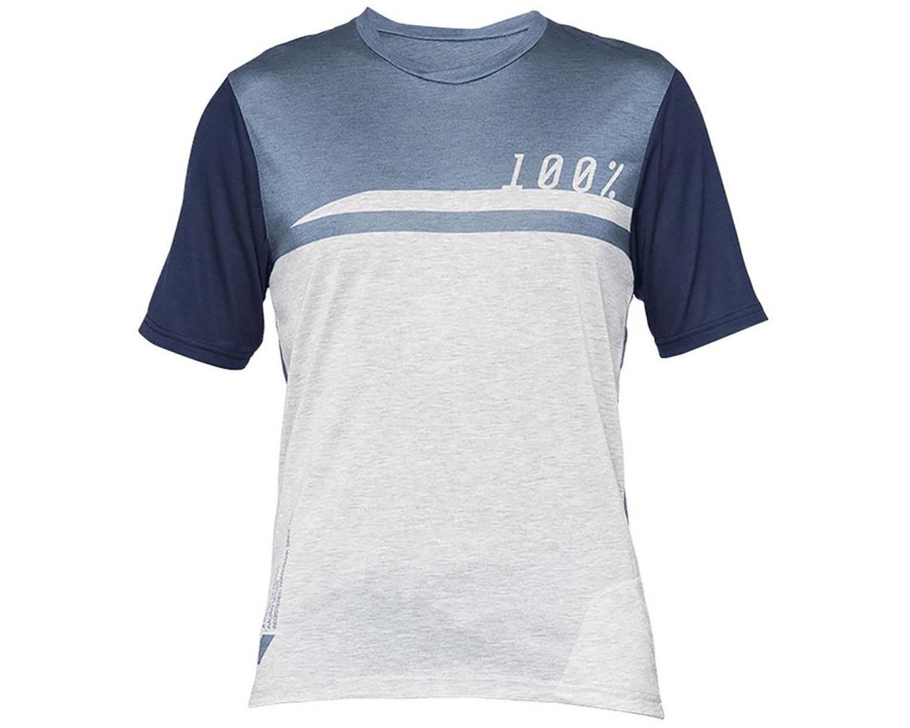 100% Airmatic Jersey (SP21) short sleeve | steel blue-grey