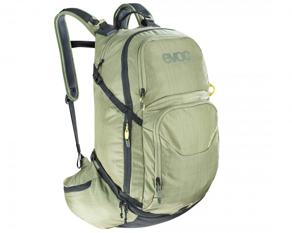 Evoc Explorer Pro 30 litres bike backpack | heather light olive