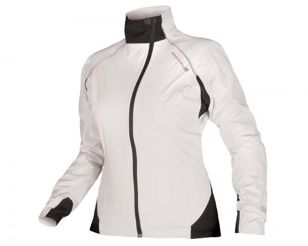 Endura Womens Helium waterproof jacket | white