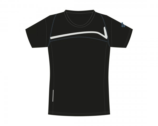 Cube Motion WLS Womans Jersey short sleeve | black