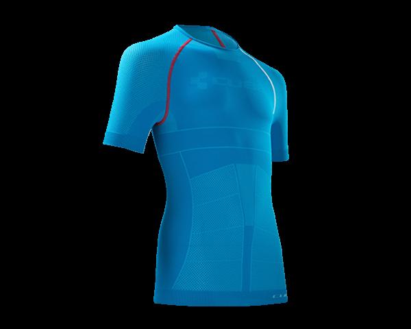 Cube Undershirt functional short sleeve Teamline | blue/white/red