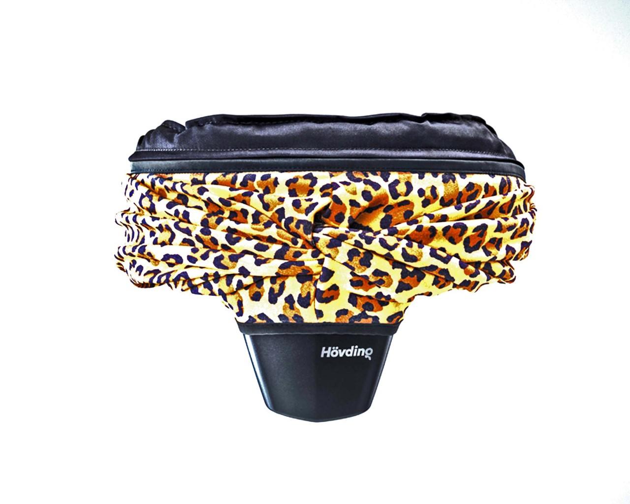 Hövding Airbag Cover | leopard