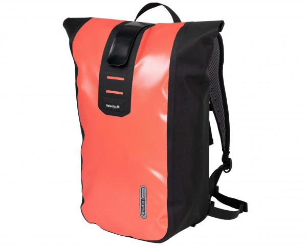 Ortlieb Velocity 23 litres waterproof Bike Backpack | coral-black