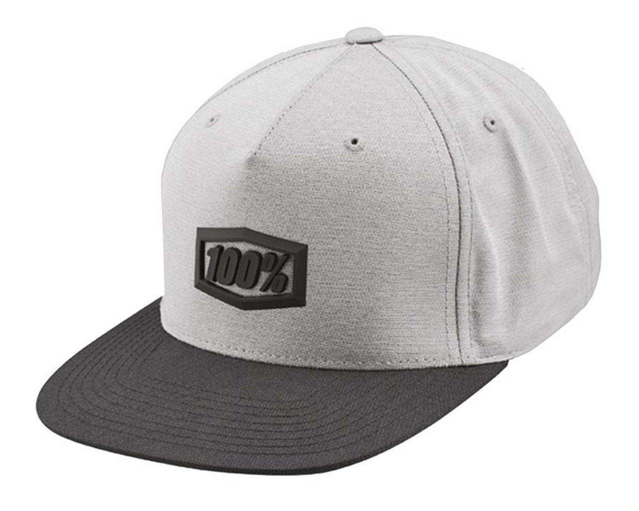 100% Enterprise 2019 Snapback Hat | charcoal