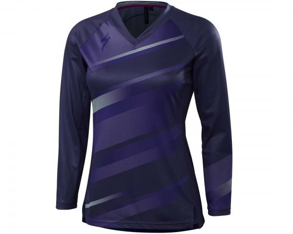 Specialized Womens Andorra jersey long sleeve | deep indigo