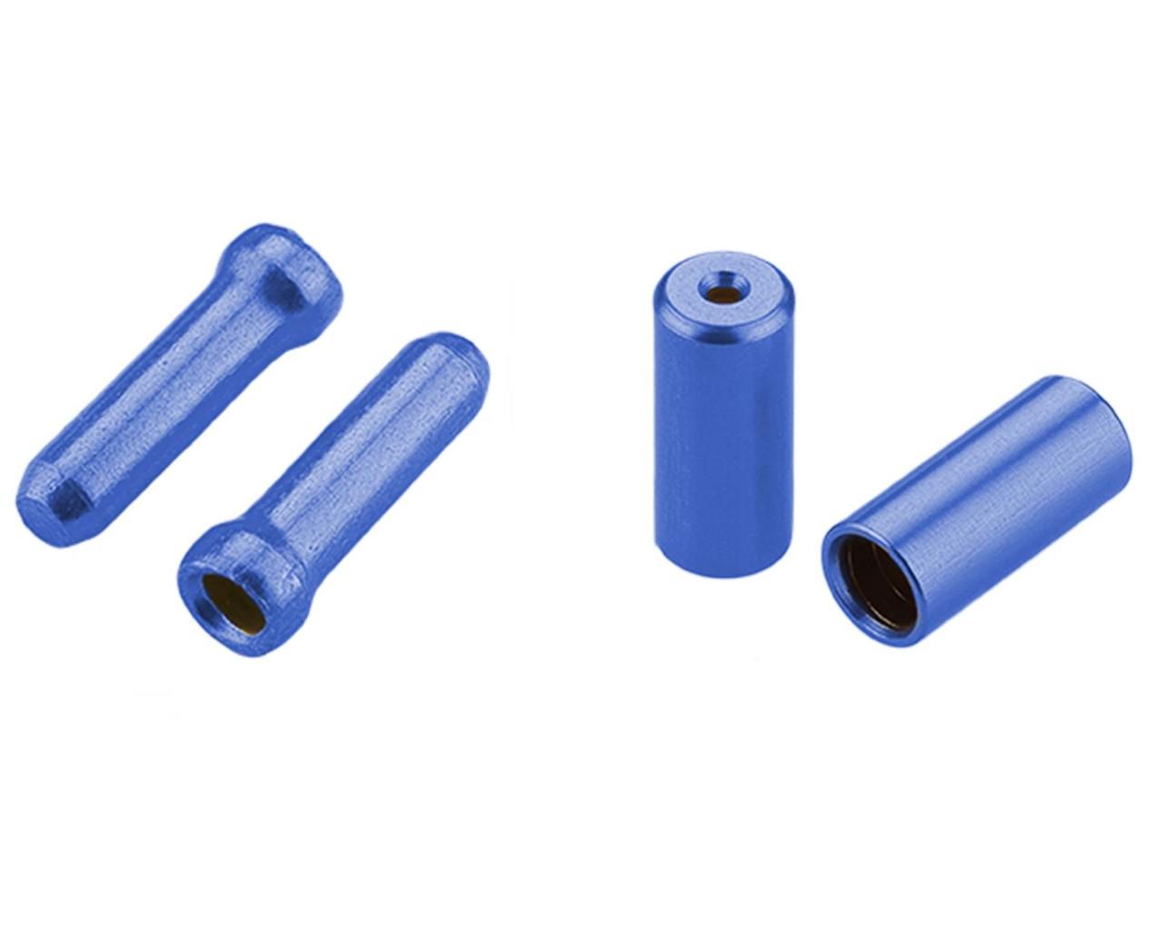Cube RFR Endkappen Pro Set Universal   Blau